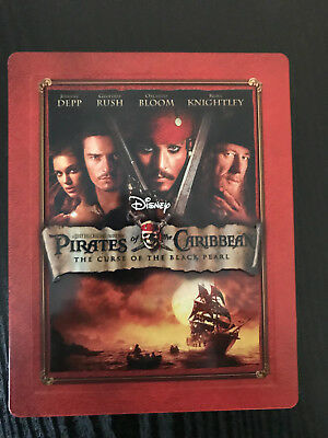 PIRATES OF THE CARIBBEAN :The Curse Of The Black Pearl - UK - STEELBOOK- Blu-ray