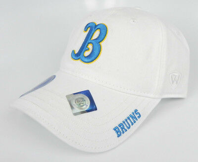 the best attitude 984ef 3713f Ucla Bruins Ncaa White Adjustable Strapback Dad Cap Hat Unstructured New!  Tow