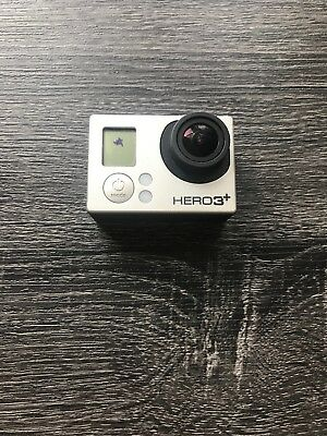 GoPro HERO3+ Black Edition Camcorder -  Black CAMERA ONLY. NO CHARGER OR SD CARD