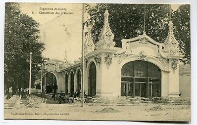 CPA - Carte Postale - France - Exposition de Nancy - Consortium des Brasseries