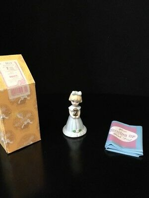 E2302 Growing Up Girls Blonde Age 2 ENESCO Figurine NEW IN BOX! Free Shipping