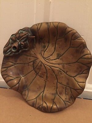 Antique Brass Leaf