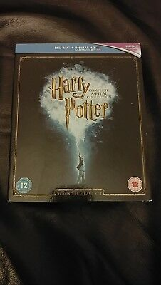 Harry Potter:Complete 8 Films Collection - 16 Blu-Ray Discs