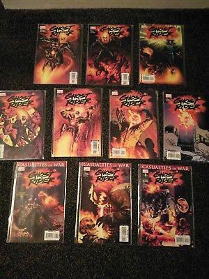 Ghost Rider Issues 1 - 19 Plus Annual And Full Run of Trail of Tears
