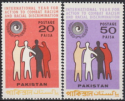 Pakistan Int Year for Action to Combat Racism & Racial Discrimination 1971 MNH-0