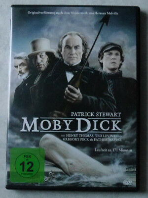 Moby Dick (2007) DVD - Patrick Steward - Gregory Peck