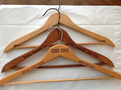 Vintage Wooden Advertising Hangers