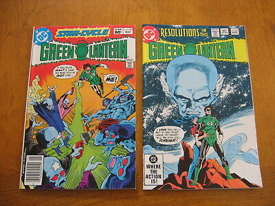 Green Lantern #'s 151 and 152 near mint to mint