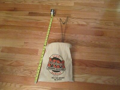 Minneapolis Moline Clothes Pin Hanging Bag Kent Minnesota Advertising Tractor