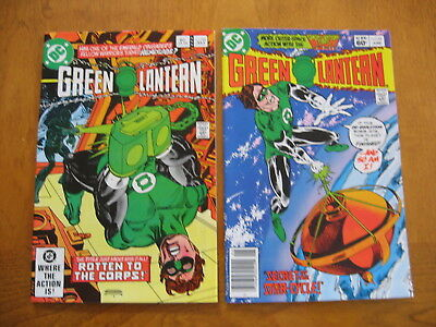 Green Lantern #'s 153 and 154 near mint to mint