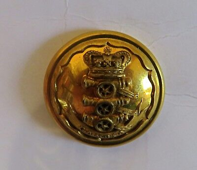 The Gambia Artillery Officer's Tunic Button.