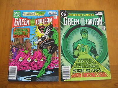 Green Lantern #'s 155 and 156 near mint to mint