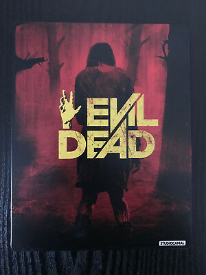 EVIL DEAD 2013 - Steelbook - Blu-ray and DVD - UK