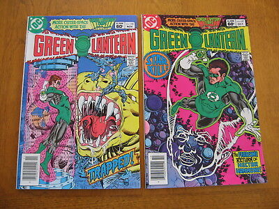 Green Lantern #'s 157 and 158 near mint to mint