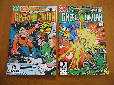Green Lantern #'s 159 and 162 near mint to mint