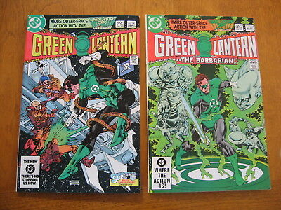 Green Lantern #'s 164 and 168 very fine to near mint