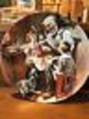 """Norman Rockwell Collector Plate """"The Toy Maker"""" 1977 by Knowles"""