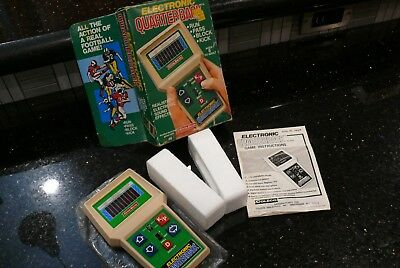 Coleco FOOTBALL ✨RARE✨  Vintage Handheld Electronic Tabletop arcade Game