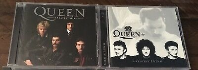 Queen CD Collection Lot Greatest Hits I III RARE Freddie Mercury