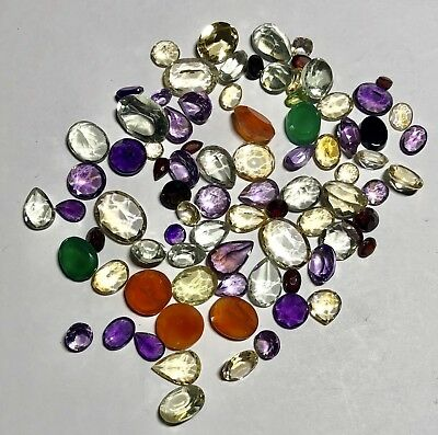 Natural Gemstones from Gold Scrap Recovery, 158.5 Carats