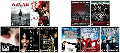 Battle Royale Azumi Infernal Affairs Lady Mr Vengeance Trilogy OldBoy 10 FILMS