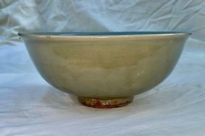 Antique Chinese Longquan/Northern Celadon Bowl- Song/Yuan Dynasty 960-1368