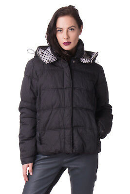 AMY GEE Puffer Jacket Size 46 / L Detachable Hood Designed in Italy RRP €170