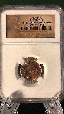 2009-D Lincoln Presidency Bicentennial Cent Penny 1C NGC Brilliant Uncirculated