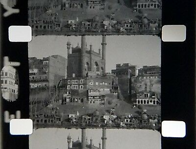 16mm Home Movie ~ 1930 Ganges River, India (Tour With Actor Douglas Fairbanks)