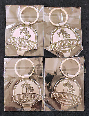 4 New Golden Road Brewing Keychains