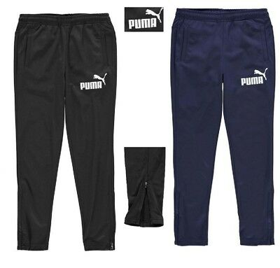 Puma Tapered Tracksuit Bottoms Junior Boys Drycell Technology Sports 7-13 Years