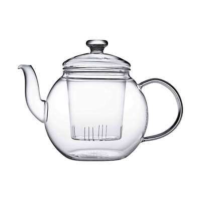 Teaposy 16 oz Glass Teapot with Glass Infuser and Glass Lid NIB