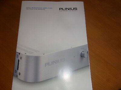 PLINIUS 9200 Integrated Amplifier - Instruction Manual - Bedienungsanleitung!!