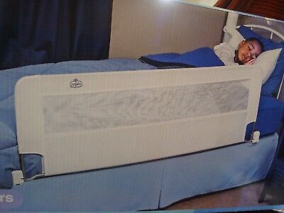 "Regalo Swing Down Safety Bed Rail Adjustable 56"" long NEW"