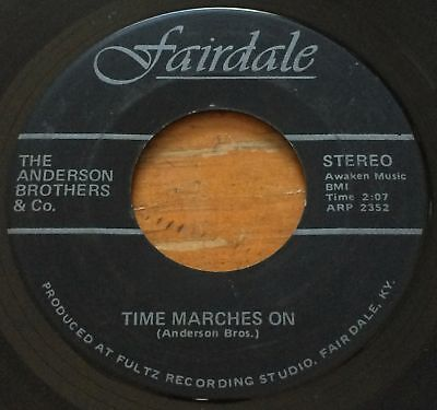 The Anderson Brothers & Co. -Time Marches On- Doo Wop Rocker 45 on Fairdale Hear