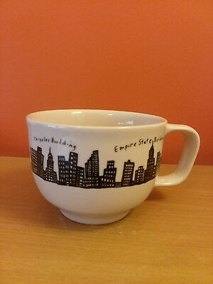 e951581d62a Fishs Eddy New York NY Skyline Mug Coffee Tea Cup Empire State Chrysler  Building