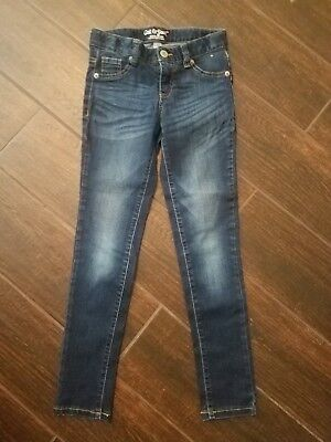 Cat and Jack Super Skinny Girls Blue Jeans-Size 8