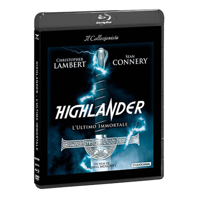 Highlander - L'Ultimo Immortale (Dvd+Blu-Ray)  [Blu-Ray Nuovo]