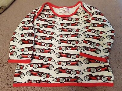 Baby Boys 'Powell Craft' Boutique Racing Cars Long Sleeve Top *Age 6-12 Months*