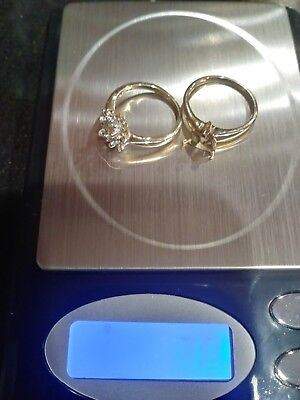 Scrap gold lot 10k and 14k stamped no reserve .99 ct listing