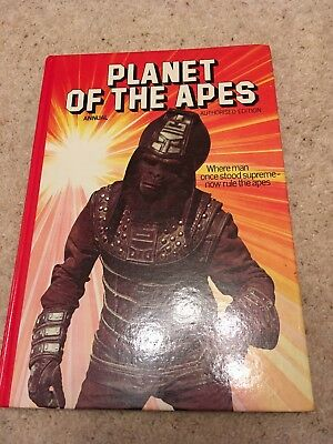 Planet of the Apes annual 1977 hardback authorised edition