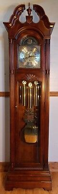 Grandfather Clock-Exc Con/Kieninger Triple Chimes/NATIONWIDE PERSONAL DELIVERIES