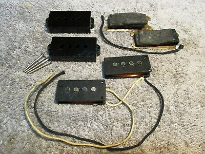 Pickup Wizard P-Bass Style Pickup w/Copper Grounding Plate and Rubbers