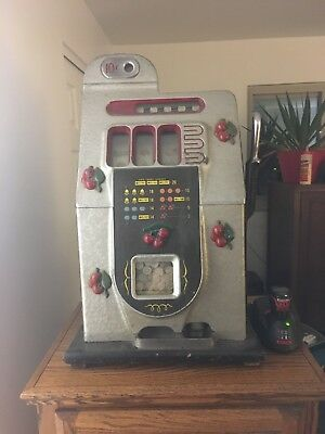 Antique 10 Cent Slot Machine - Mills Cherry 🍒