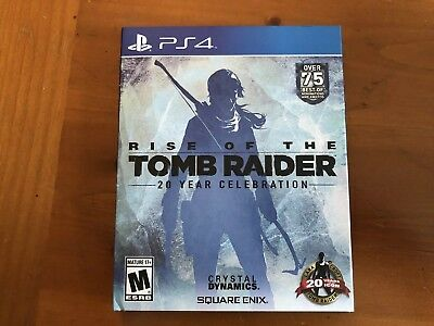 Rise of the Tomb Raider 20 Year Celebration Sony PlayStation 4, 2016 Ships Fast