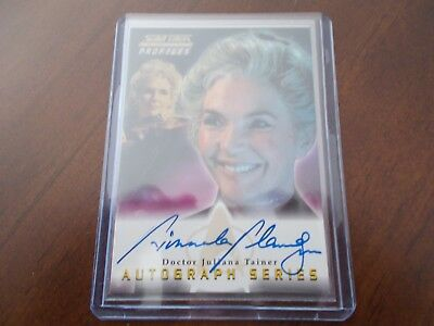 Star Trek TNG Profiles Autograph A6 Fionnula Flanagan as Doctor Juliana Tainer
