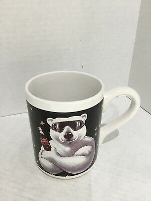 Coca-Cola Mug Polar Bear Coffee Cup Collectors Gibson 1996