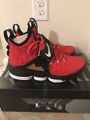 04bf5feb19 NEW IN BOX】NIKE Lebron XV 15 Prime Diamond Turf AO9144-600 Red ...