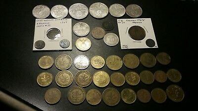 41 Germany Coins/tokens Lot. 1930's Deutsches Reichs ,1764 6 Pfennig  +More