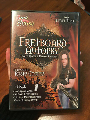 Rusty Cooley Fretboard Autopsy Scales Modes and Melodic Patterns Level 014011817